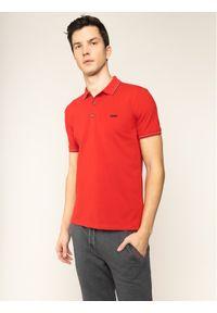 Czerwona koszulka polo Hugo polo