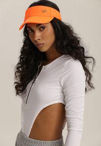 Pomarańczowy kapelusz Renee