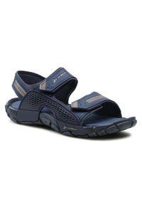 Niebieskie sandały trekkingowe Rider