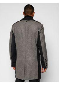 Szary płaszcz przejściowy Rage Age