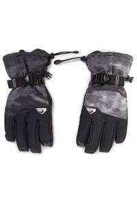 Czarne rękawiczki sportowe Quiksilver narciarskie