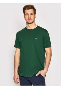 Lacoste T-Shirt TH6709 Zielony Regular Fit. Kolor: zielony