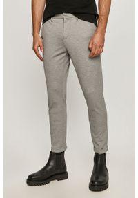 Tom Tailor - Spodnie. Kolor: szary. Materiał: tkanina