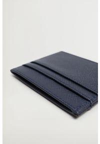Niebieski portfel Mango Man