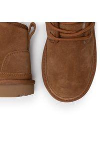 Brązowe buty zimowe Ugg młodzieżowe