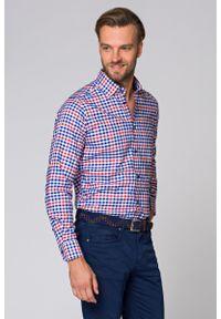 Koszula Lancerto w kolorowe wzory