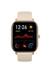Złoty zegarek Xiaomi smartwatch #3