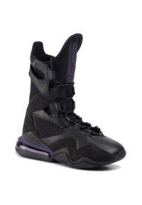 Czarne buty do fitnessu Nike z cholewką