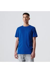 Cropp - Koszulka basic - Niebieski. Kolor: niebieski
