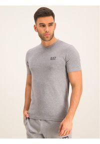 EA7 Emporio Armani T-Shirt 8NPT53 PJM5Z 3905 Szary Regular Fit. Kolor: szary