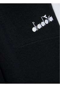 Diadora Spodnie dresowe Diadora Club 102.177129 Czarny Regular Fit. Kolor: czarny. Materiał: dresówka