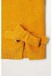 Żółty sweter Mango Kids casualowy, na co dzień #4