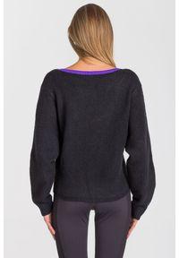 Sweter Armani Exchange krótki, z długim rękawem