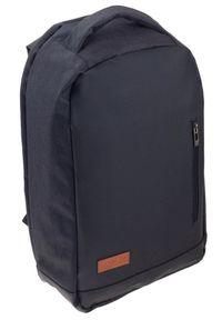 ROVICKY - Plecak męski czarny Rovicky NB9750-4450 BLACK. Kolor: czarny. Materiał: materiał. Styl: sportowy, biznesowy
