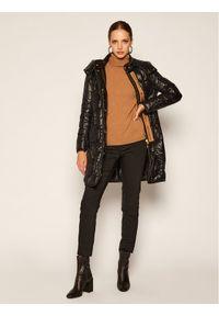 Czarna kurtka Trussardi Jeans