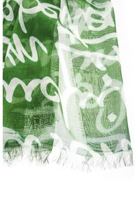 Chusta Elisabetta Franchi w kolorowe wzory, na zimę