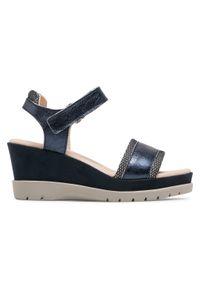 Niebieskie sandały Callaghan