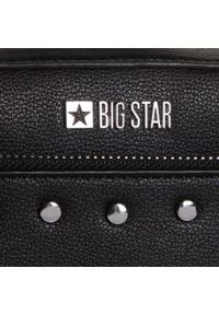 Big-Star - Torebka BIG STAR - GG574159 Czarny. Kolor: czarny. Materiał: skórzane