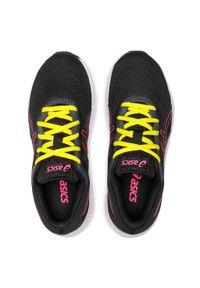 Asics - Buty ASICS - Gel-Excite 8 GS 1014A201 Black/Hot Pink. Kolor: czarny. Materiał: skóra ekologiczna, skóra, materiał. Styl: młodzieżowy