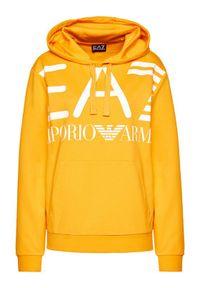 EA7 Emporio Armani Bluza 6HPM16 PJ05Z 1603 Żółty Regular Fit. Kolor: żółty