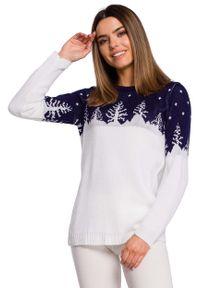 Niebieski sweter MOE