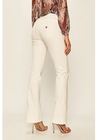 Białe jeansy Guess Jeans