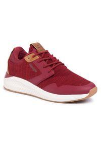 Czerwone sneakersy Wrangler
