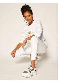 Białe spodnie dresowe Alpha Industries