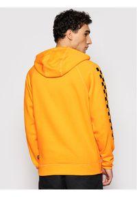 Vans Bluza Versa Hoodie VN0A3HPZ Żółty Regular Fit. Kolor: żółty