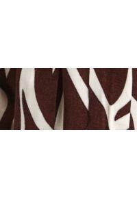 TOP SECRET - Szorty damskie w zwierzęcy wzór. Kolor: czarny. Materiał: materiał. Długość: krótkie. Wzór: motyw zwierzęcy. Sezon: lato. Styl: wakacyjny