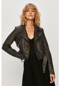 Czarna kurtka only klasyczna, bez kaptura