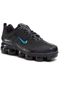 Czarne sneakersy Nike na co dzień, z cholewką