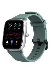 Zielony zegarek AMAZFIT smartwatch