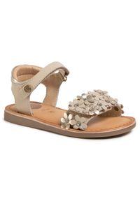 Beżowe sandały Gioseppo z aplikacjami