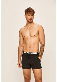 Czarne kąpielówki Moschino Underwear