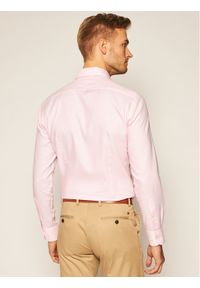Różowa koszula casual Tommy Hilfiger Tailored