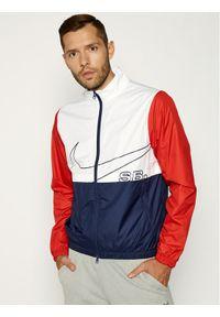 Biała kurtka przejściowa Nike