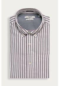 Brązowa koszula Premium by Jack&Jones casualowa, długa