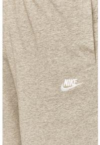 Szare szorty Nike Sportswear sportowe, na co dzień
