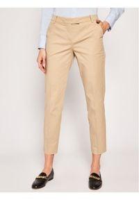 Marc O'Polo Chinosy B01 0341 10059 Brązowy Slim Fit. Kolor: brązowy