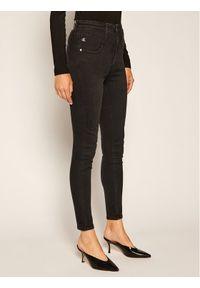 Czarne jeansy slim Calvin Klein Jeans