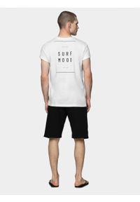 outhorn - T-shirt męski. Materiał: bawełna, materiał