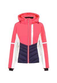 Różowa kurtka narciarska Descente Thinsulate, na zimę