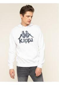 Kappa Bluza Taino 705322 Biały Regular Fit. Kolor: biały