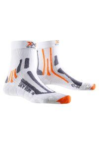Skarpety X-Socks Sky Run Silver X20433. Materiał: mesh, włókno. Sport: bieganie