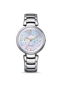 CITIZEN ZEGAREK L FD1106-81D. Rodzaj zegarka: analogowe. Materiał: materiał. Styl: klasyczny, elegancki