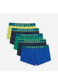 Bawełniane bokserki 5 pack - Zielony
