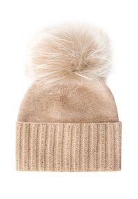 Beżowa czapka William Sharp