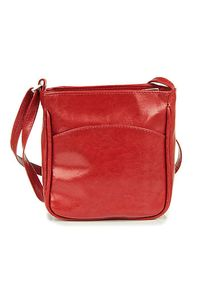 Czerwona torebka DAN-A casualowa