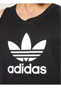 Czarny tank top Adidas
